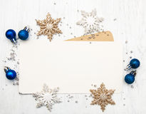 Greeting card for christmas Royalty Free Stock Photos
