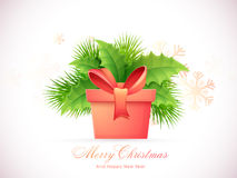 Greeting card for Christmas and New Year celebration. Stock Photography