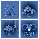 Greeting card for Christmas and New Year Royalty Free Stock Photo