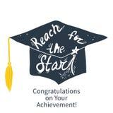 Greeting Card With Congratulations Graduate Stock Photos
