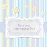 Greeting card with copy space Royalty Free Stock Photography