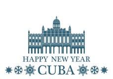 Greeting Card. Cuba Stock Photo