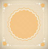 Greeting card. 2d design of Greeting card Stock Images