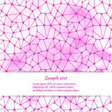 Greeting card design with abstract pattern and space for text. Stock Photos