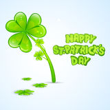 Greeting card design for St. Patricks Day celebration. Stock Photo