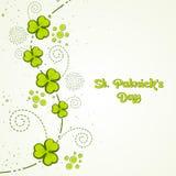 Greeting card design for St. Patricks Day celebration. Royalty Free Stock Photos