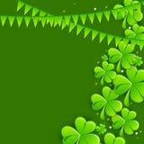 Greeting card design for St. Patricks Day celebration. Stock Images