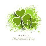 Greeting card design for St. Patricks Day celebration. Royalty Free Stock Image