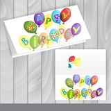 Greeting Card Design, Template Royalty Free Stock Photos