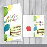 Greeting Card Design, Template Royalty Free Stock Images