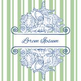 Greeting Card Design, Template. Stock Photography