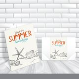 Greeting Card Design, Template Royalty Free Stock Photography