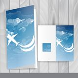 Greeting Card Design, Template Royalty Free Stock Image