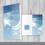 Greeting Card Design, Template Stock Photography