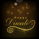 Greeting card for Diwali celebration Royalty Free Stock Images