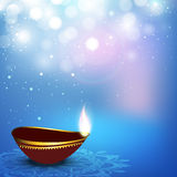 Greeting card for Diwali celebration Royalty Free Stock Image
