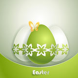 Greeting card with Easter Royalty Free Stock Images