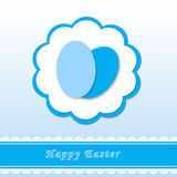 Greeting card for Easter Royalty Free Stock Image