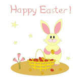 Greeting card for Easter Royalty Free Stock Photo