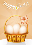 Greeting card for Easter Royalty Free Stock Photography