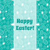 Greeting card for Easter. Royalty Free Stock Photo