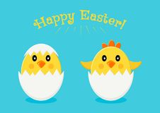 Greeting card for Easter. Vector illustration stock illustration