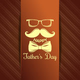 Greeting card for Fathers Day celebration Stock Photography