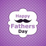 Greeting card fathers day Royalty Free Stock Photo