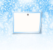 Greeting card with frame on a beautiful background Stock Photos