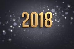 2018 Greeting card Royalty Free Stock Photos