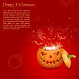 Greeting Card Halloween Royalty Free Stock Image