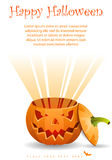 Greeting Card Halloween Royalty Free Stock Image