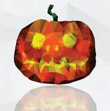 Greeting card for Halloween Stock Photography