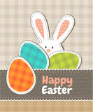 Greeting card. Happy Easter Royalty Free Stock Photo