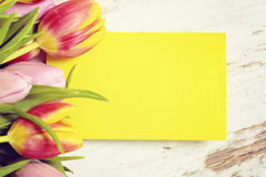 Greeting card happy easter Royalty Free Stock Image