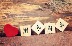 Greeting card happy mothers day Royalty Free Stock Photo