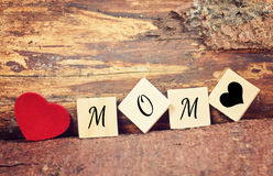 Greeting card happy mothers day Stock Photos
