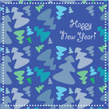Greeting-card-Happy-New-Year! Royalty Free Stock Images