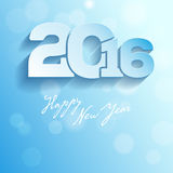 Greeting card - Happy New Year 2016 Royalty Free Stock Image