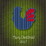 Greeting card Happy New Year and Merry Christmas Royalty Free Stock Photos