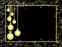 Greeting card happy new year. There is a space for your text Royalty Free Stock Image