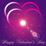 Greeting Card Happy Valentine's Day Royalty Free Stock Photography