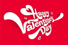 Greeting card, happy Valentine`s day mage. Greeting card, happy Valentine`s day greeting vector image. A gift for a loved one Royalty Free Stock Photos