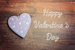 Greeting card happy valentine´s day Royalty Free Stock Photo