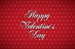 Greeting Card - Happy Valentines Day 2 Royalty Free Stock Images