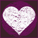 ClipArt[Valentine greeting card][pink] Royalty Free Stock Photo