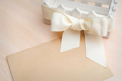 Greeting card for the holiday, a place for your text.  Stock Photo