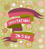 Greeting card / invitation Royalty Free Stock Photo