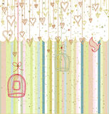 Greeting Card or Invitation Stock Images