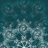 Greeting card or invitation, background with doodle drawing element for your design Royalty Free Stock Images